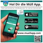Bestens informiert mit der Müll App!